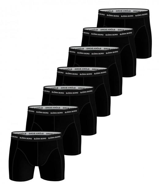 Bjorn Borg Boxershorts Essential 7-pack zwart