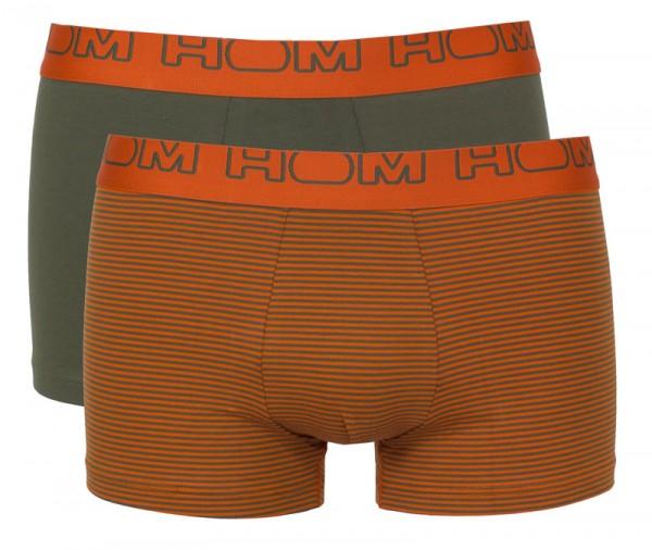 Hom boxershorts stripes 2-pack
