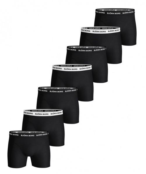 Bjorn Borg boxershorts Solid essentials 7-pack