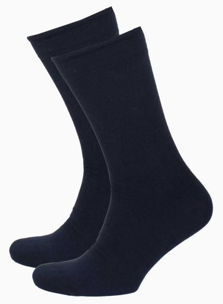 Onderbox sokken soft cotton blauw