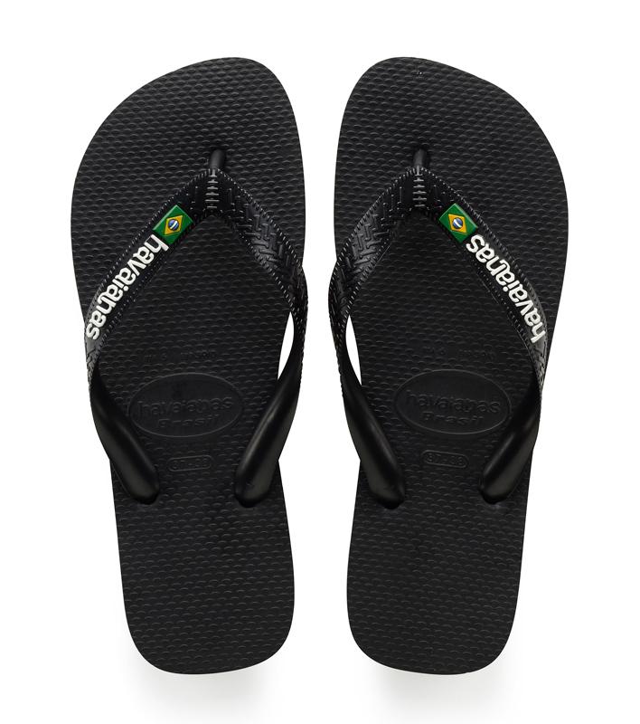 Havaianas-Slippers-Flipflops Brasil Logo-Zwart