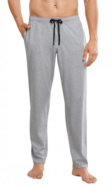Schiesser pyjamabroek jersey grijs