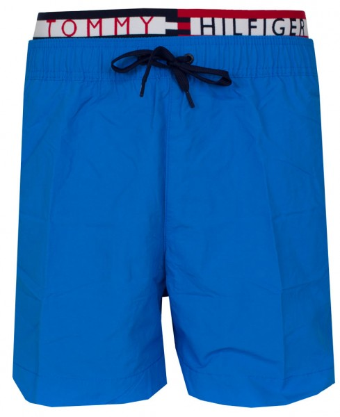 Tommy Hilfiger Zwemshort TH medium drawstring blue
