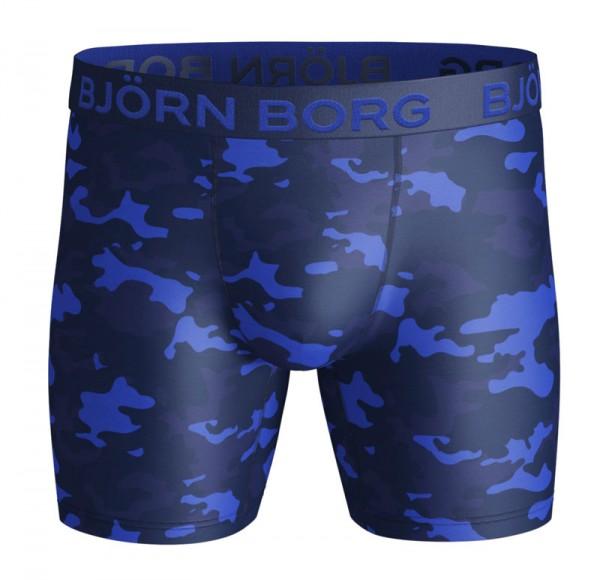 Bjorn Borg boxershort Performance camo 9999-1135 blauw