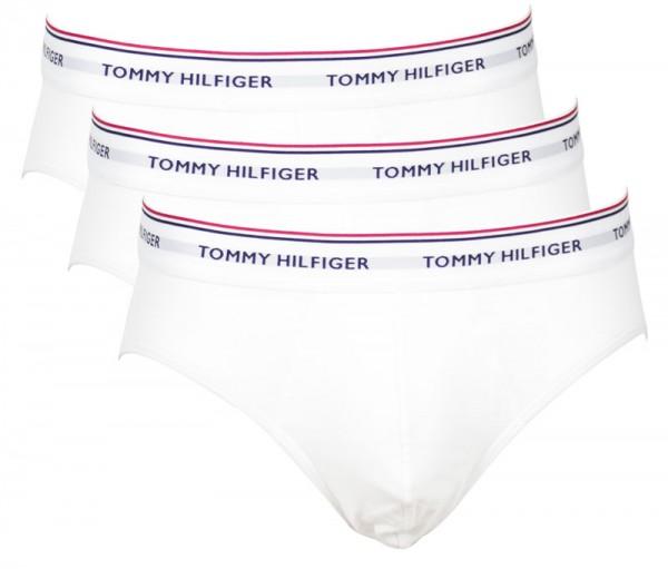 Tommy Hilfiger heren slips Essentials wit 3-pack