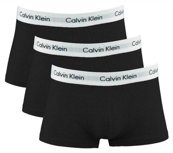 Calvin Klein Short low rise CK 3-Pack u2664g zwart