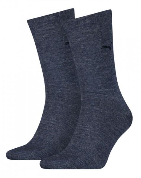 Puma sokken Classic 2-paar denim blue