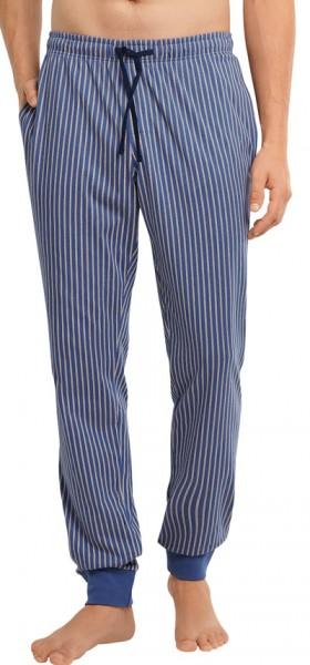 Schiesser gestreepte Jersey pyjamabroek