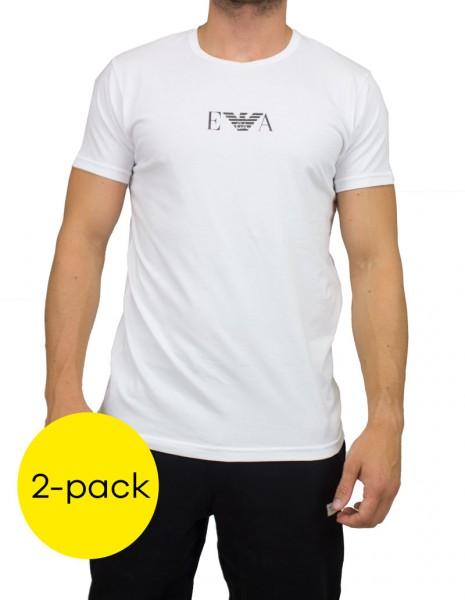 Armani T-shirts monogram 2-pack